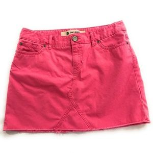 Gap Jeans Womens Pink Mini Skirt, Size 6